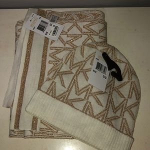 michael kors hat and scarf